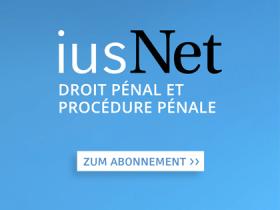iusNet Droit Pénal et Procédure Pénale
